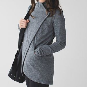 Lululemon Large Gray Wrap Cardigan